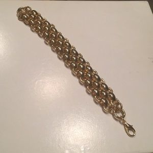 "MONET Jewelry - 🌼 "" VINTAGE "" MONET PANTHER LINK BRACELET 🌼"